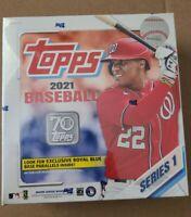 2021 Topps Series 1 Baseball Mega Box Factory Sealed Walmart Exclusive 🔥