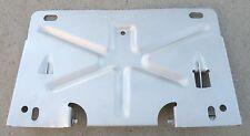 CADILLAC REAR LICENSE PLATE MOUNT BRACKET TILT FOLD DOWN GAS DOOR SUPPORT OEM
