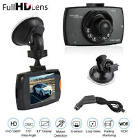 HD 1080P Dash Cam Camera Video Recorder Car DVR 2.7 Inch G-sensor Night Vision