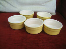COLLECTION OF FIVE POTS & CO RAMEKIN DISHES