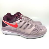 Nike Air Zoom Vapor X HC Tennis Particle Rose Bright Crimson AA8030-601 Size 8