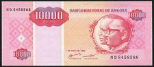 Angola 10000 kwanzas 1995.05.01. Santos + Neto & Oil Platform Rig P137 UNC