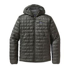 Patagonia Men's Nano Puff® Hoody - Forge Grey - Size S **Low Price**