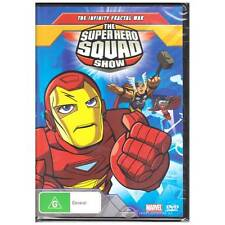 DVD SUPER HERO SQUAD SHOW INFINITY FRACTAL WAR TV 7x Episodes Cartoon R4 [BNS]