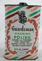 Vintage Guardsman Cleaning Polish Tin Advertising Design Packaging