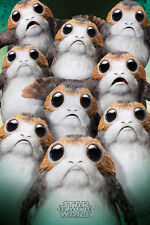 STAR WARS THE LAST JEDI MOVIE MANY PORGS 91X61CM MAXI POSTER NEW OFFICIAL MERCH