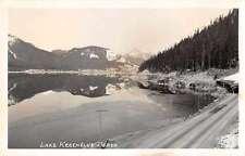 Lake Keechelus Washington Scenic View Real Photo Antique Postcard J60365