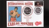 CARLOS MONZON INTER' BOXING HALL OF FAME INDUCTEE COV