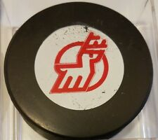 1974-75 Michigan Stags  VINTAGE WHA OLD VICEROY  GAME PUCK MADE IN CANADA rare