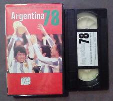 VHS FILM Ita XI Campionati Del Mondo Di Calcio ARGENTINA 78 ex nolo no dvd(VH63)