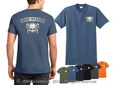 Crane Operator T-shirt tower crane skull t shirt boom crane truck logo tee shirt