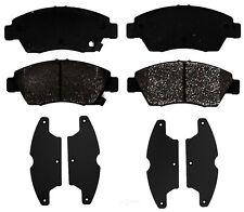 Disc Brake Pad Set-Semi Metallic Disc Brake Pad Front ACDelco Pro Brakes 17D948M