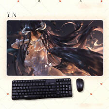 Anime Overlord albedo Mouse Pad Play mat GAME Mousepad Cosplay 40*70cm#J-E393