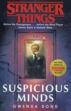 Stranger Things: Suspicious Minds: The First O by Gwenda Bond New Paperback Book