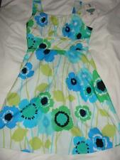 NWT CUTE SUMMERY MACY'S RARE EDITIONS DRESS SIZE 12 100% COTTON  ~FREE US SHIP