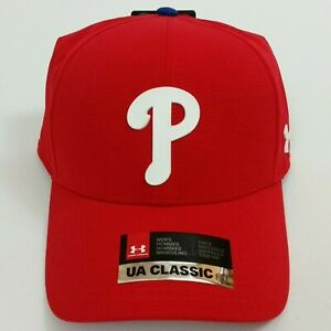 Under Armour Philadelphia Phillies CoolSwitch Hat Red