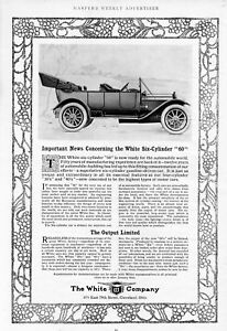 THE WHITE SIX CYLINDER AUTOMOBILE IS READY FOR THE WORLD LIMITED WHITE COMPANY