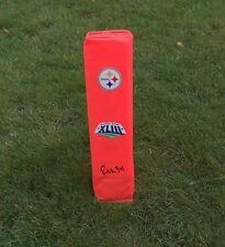 Pittsburgh Steelers RASHARD MENDENHALL Signed Autographed Football Pylon COA!
