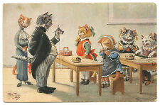 Illustrator Arthur Thiele Cats Cat Katze