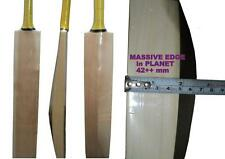 Custom Made Selected Willow Thickest Edge 40+++ mm Edges Cricket Bat @ 92