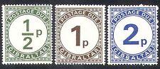 Gibraltar 1971 Postage Due/(D1 decimal) 3v set (n22943)
