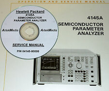HP 4145A Semiconductor Parameter Analyzer O&S Manual