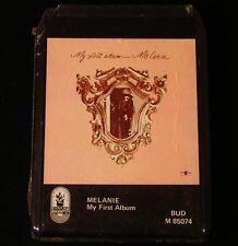 8 Track - Melanie - My First Album - 1971  - SEALED!