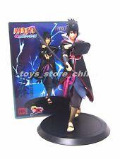 Anime Naruto Shippuden Uchiha Sasuke Toy Figure Doll 17cm New in Box