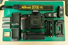 Nikon D700 12.1 MP Digital SLR Camera+ GRIP+ EXTRA S$$$! LOW SHUTTER COUNT