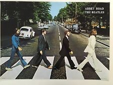 THE BEATLES, RARE AUTHENTIC 1999 POSTER