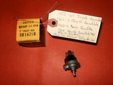 NOS Chevrolet 1958-1964 Impala/Corvette Convertible Top Switch See Applications!