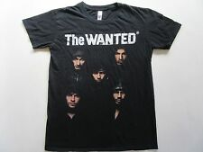 The WANTED 2012 Concert T-Shirt SMALL Original The Code Tour Top