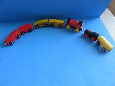 Mixed Lot Brio, Ikea, Thomas Compatible Engines Cars 7-Accessory Pieces