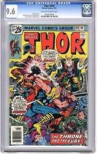 Thor  #249  CGC  9.6  NM+  off - white to white pages