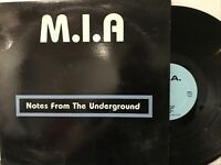 M.I.A – Notes From The Underground LP 1985 National Trust Records – NT885 VG+