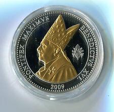 Medaille Papst Benedikt XVI Pontifex Maximus Benedictus XVI 2009 M_188