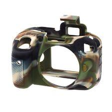 EasyCover Silicone Skin Armour Nikon D3300/3400 in Camouflague + Screen Protecto