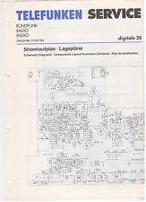 Service Manual Telefunken Rundfunk Radio Digitale 20 (124)