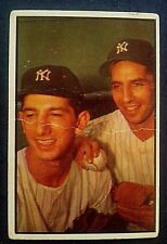 1956 Bowman Color #93 Billy Martin & Phil Rizzuto F/G