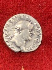 Vespasian Roman Emperor Silver Denarius Rome Mint 70-71 AD