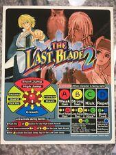 The Last Blade 2 Neo Geo Arcade Marquee