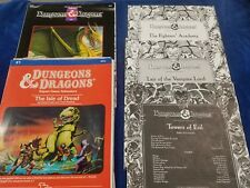 """RARE LOT Vintage Dungeons & Dragons Campaign Guides""""Towers of Evil""""&more(C5-1-A)"""