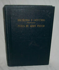 1948 DOCTRINE AND COVENANTS PEARL OF GREAT PRICE 1st Spanish ED LDS Mormon Book