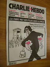 CHARLIE HEBDO n° 585 - septembre 2003 - Luz Cabu Riss Charb Gébé Wolinski