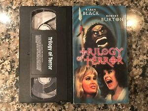 Trilogy Of Terror Vhs! 1975 Horror! See The Night Strangler & Scream Of The Wolf