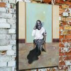 """36x24"""" Francis Bacon """"Self-portrait"""" New HD canvas print rolled up surreal art"""