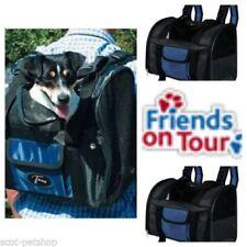 Équipements de transport noir en plastique Trixie pour chien