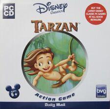 PC CD DISNEY CLASSICS TARZAN DEEP IN THE JUNGLE ACTION GAME AGE 6+