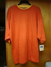 Vintage New Nos Mens Red World Wide Competition Short Sleeve Shirt Big Size 1Xl
