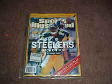 Sports Illustrated PITTSBURGH STEELERS HINES WARD PLAX BURRESS COVER 11/15/2004
